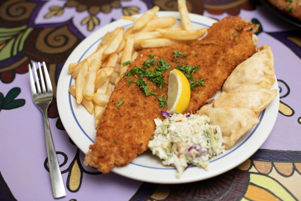 Fish Fry Side Of Pierogis 001