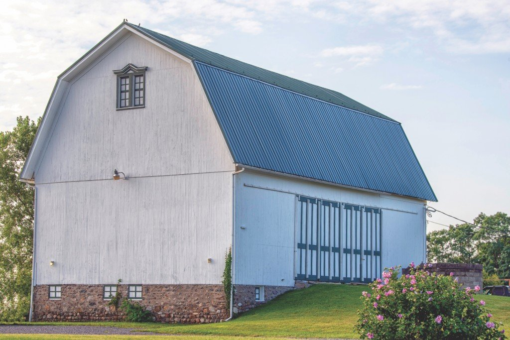 Bronson Hill Road Wells Barn Livingston County Dick Thomas