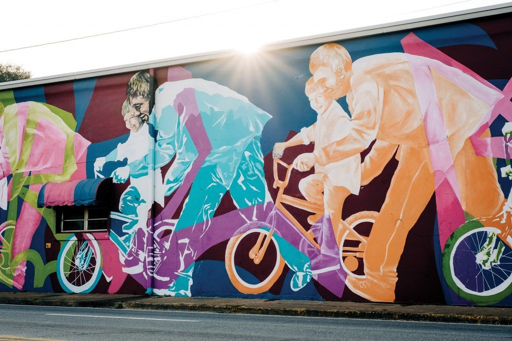 Mural By Sarah Painter And Colin Hayes In Havana, Florida On January 23, 2020