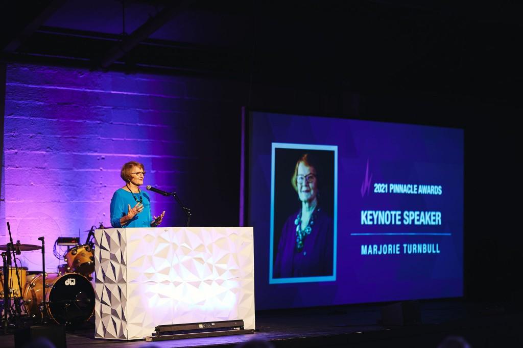 Marjorie Turnbull Keynote speaker