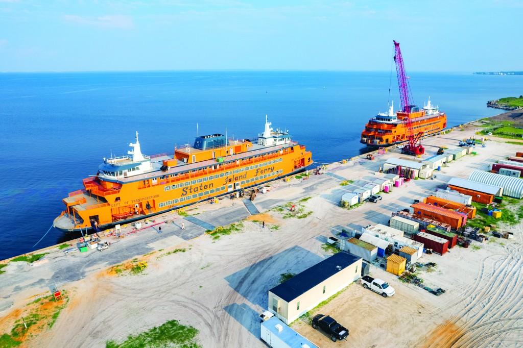 002 072621 Staten Island Ferries At Port St Joe Ccsz