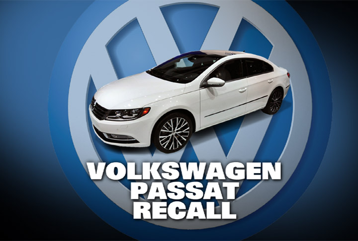 volkswagen recalling passat cars for hood headlight problems. Black Bedroom Furniture Sets. Home Design Ideas