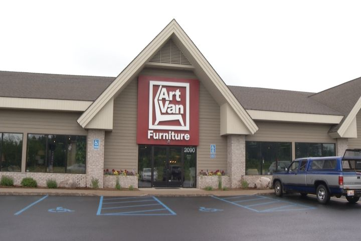 New Art Van Furniture Store In Gaylord