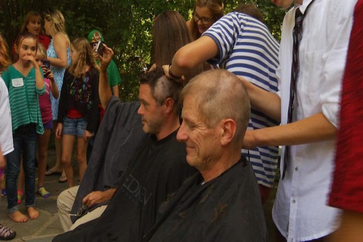 Traverse City Educators Get Clean Shave for New School Year
