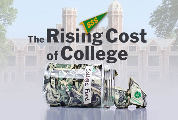 increasing cost of college Would you believe some rich college students are seeing their costs actually fall  the net price—the total annual cost of tuition, fees, room, board,.