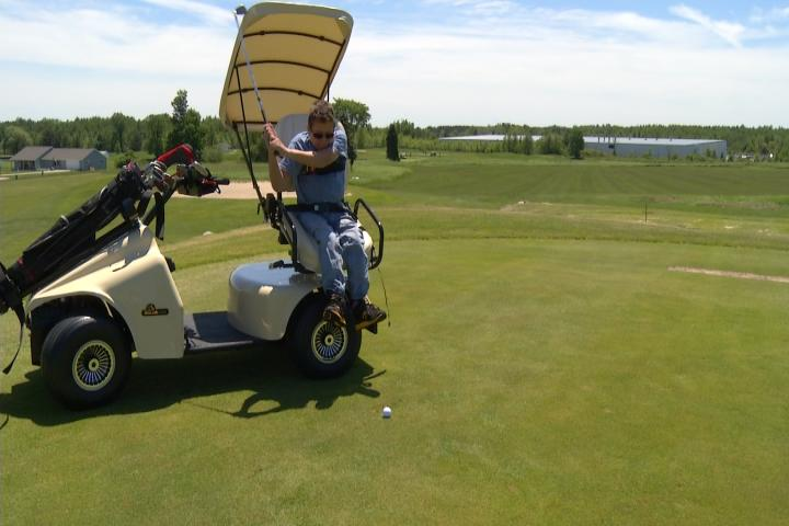 Golf Course Big Purchase Helps Accommodate Handicapped Golfers on mobility golf carts, handicap golf carts, senior mobility carts, medical mobility carts,