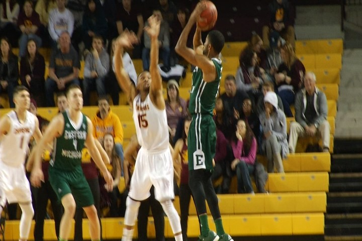 CMU men's basketball opens MAC title defense with loss to EMU