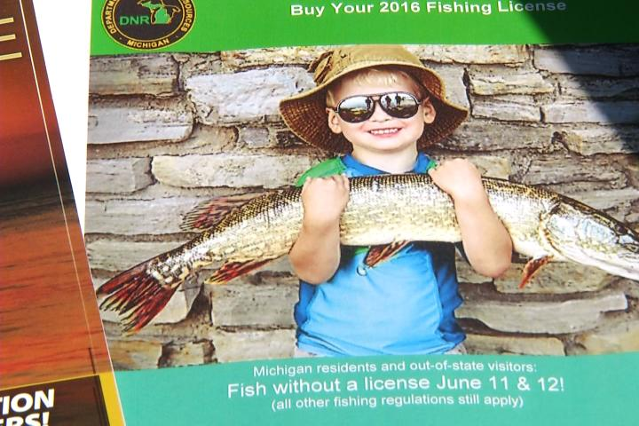 Michigan hosts free fishing weekend for Colorado fishing license fees