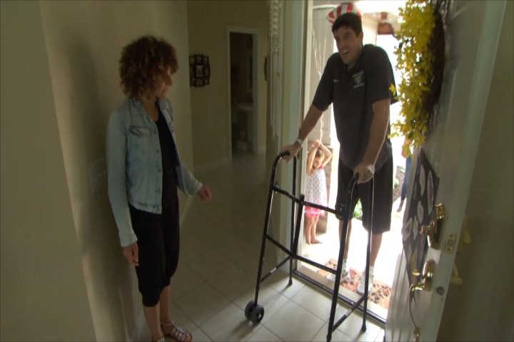 michigan man returns home after months of recovery from