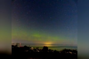 Northern Lights Leave Spectacular Scene Above Michigan