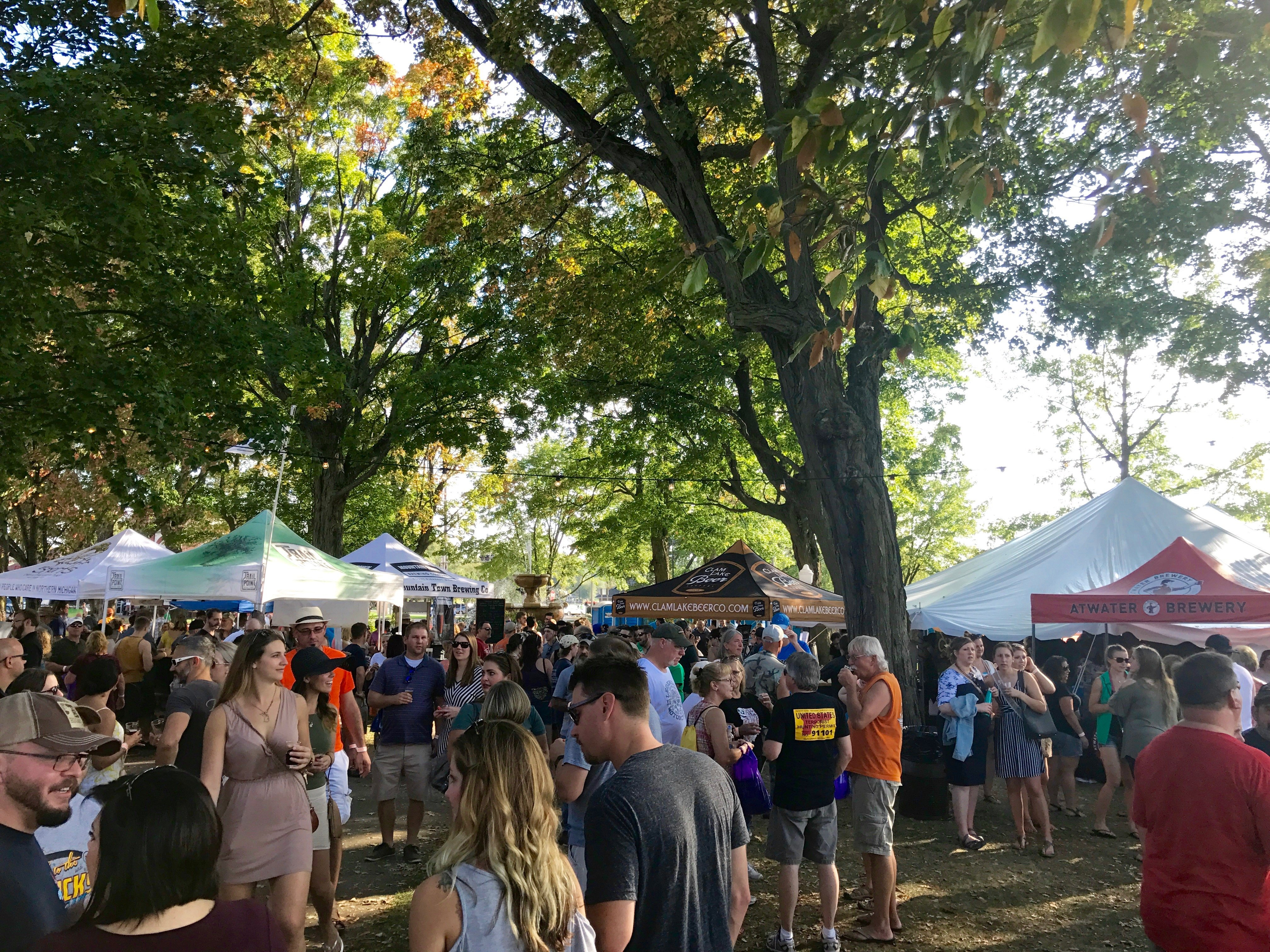Experiencing northern michigan cadillac craft beer for Michigan craft beer festival