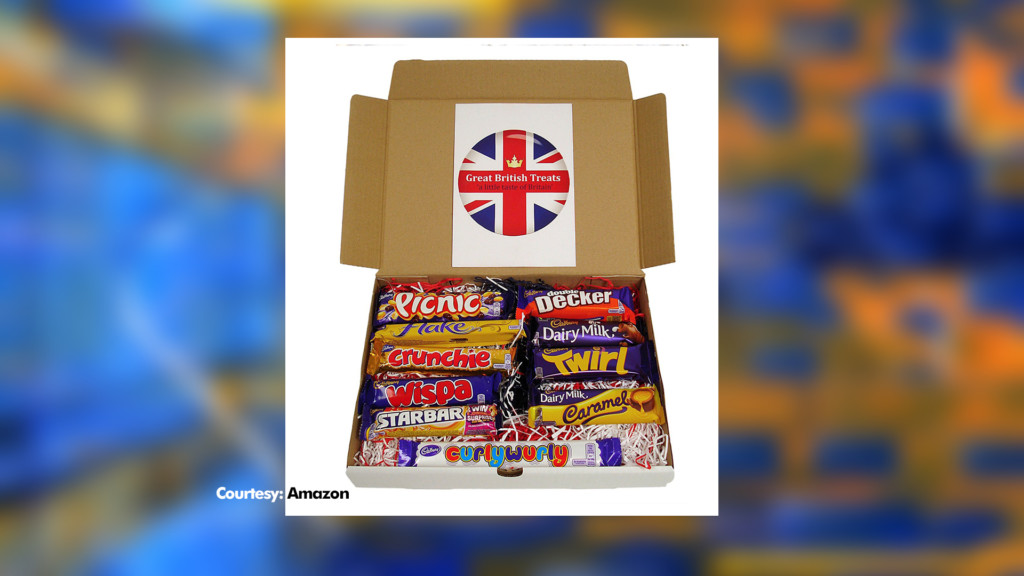 British Candy Bars