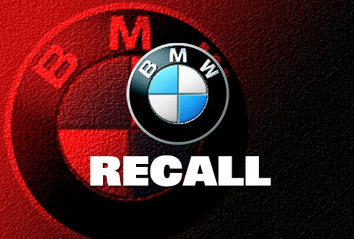 BMW recalls a million cars in North America