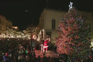 Downtown Traverse City Fills With Holiday Cheer For Tree Lighting 9 10 News