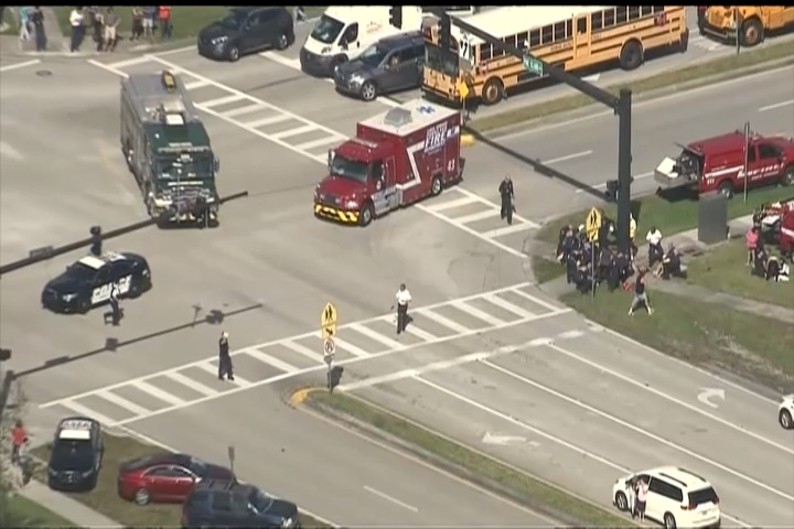 Florida shooting: Teenager charged with 17 counts of murder