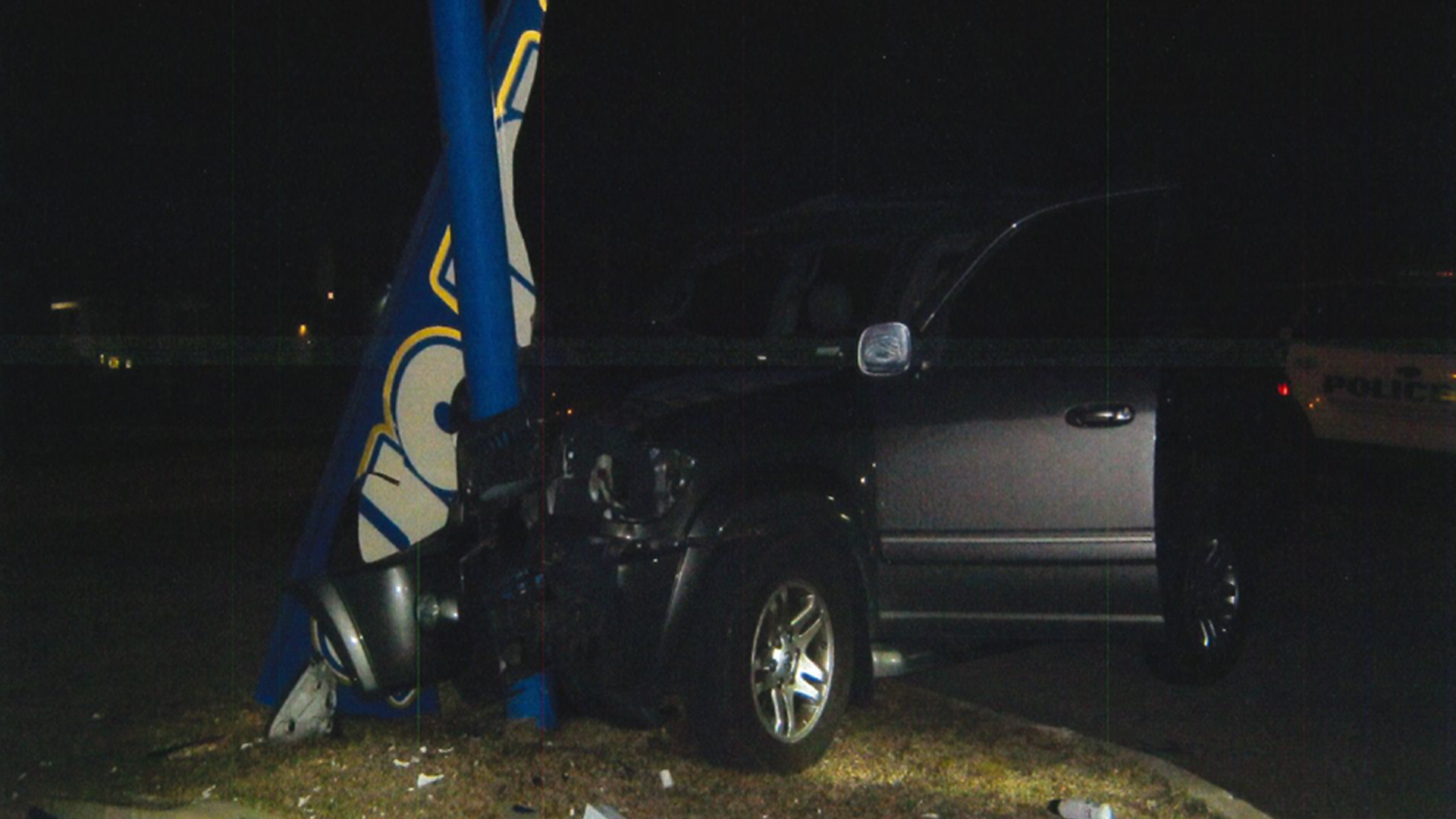 mount pleasant police man crashes car after drinking huffing