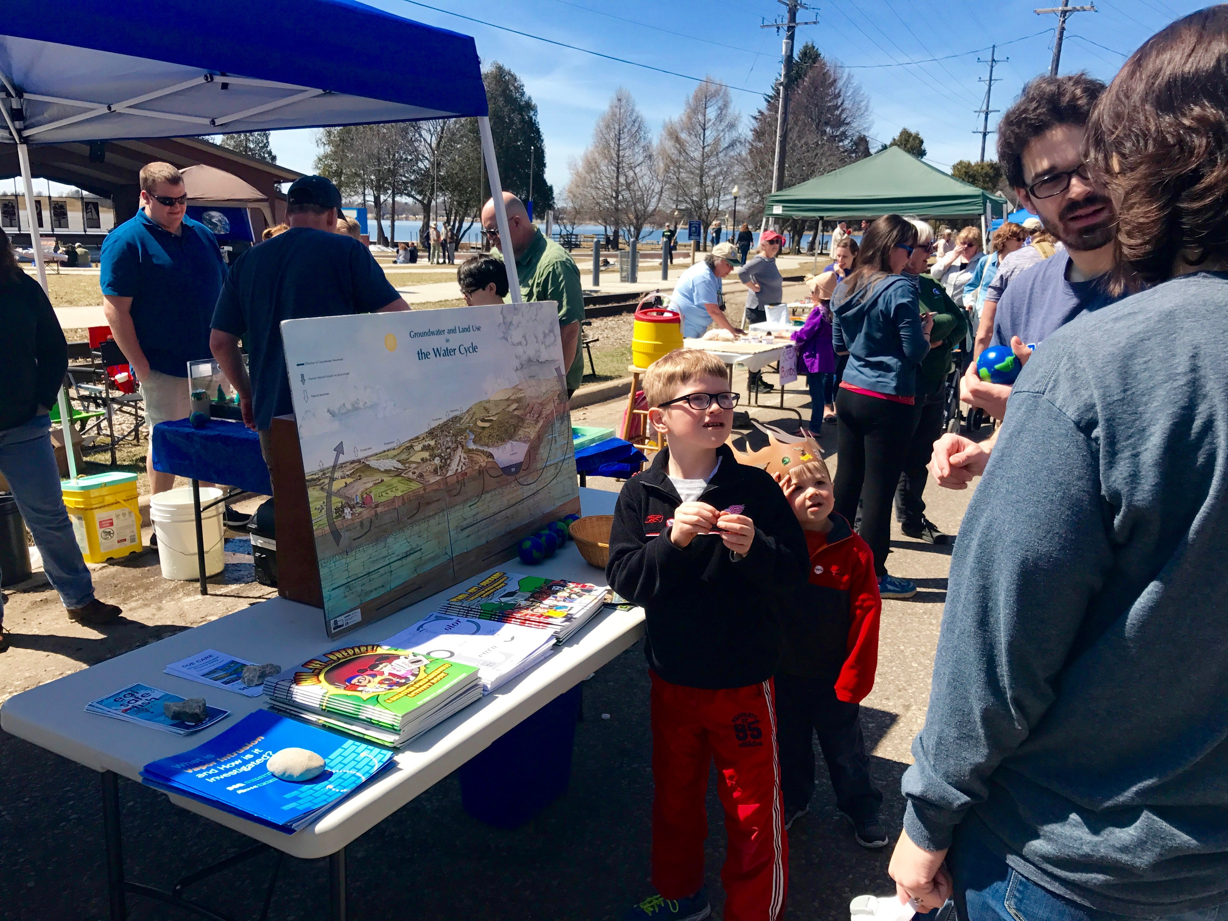 Experiencing Northern Michigan Earth Day Activities & Music at