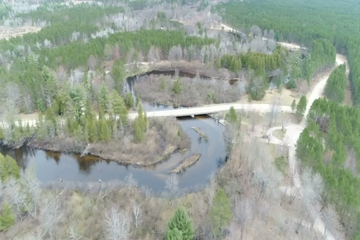 Northern Michigan from Above: Manistee River - 9 & 10 News