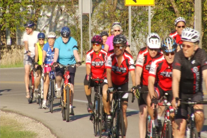 Dozens Of Cadillac Cyclist Participate In Worldwide Ride