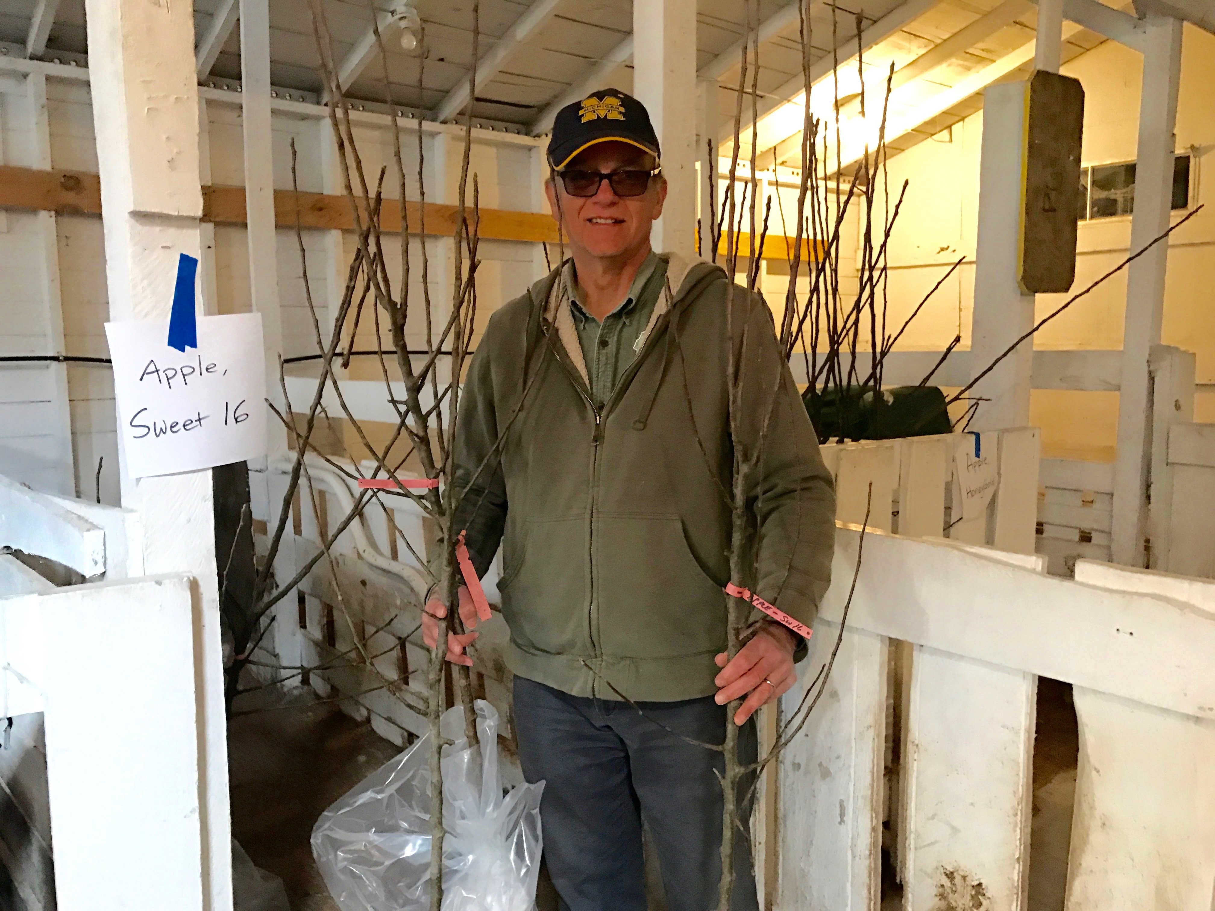 Experiencing Northern Michigan: Planting a Peach Tree from the ...