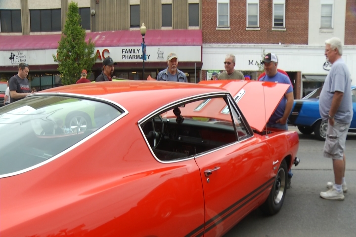 Cadillac Car Shows >> Hundreds Of Cars Line Downtown Cadillac For Back To The