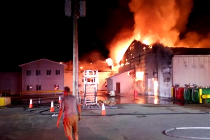 Newaygo County Warehouse Fire Still Under Investigation