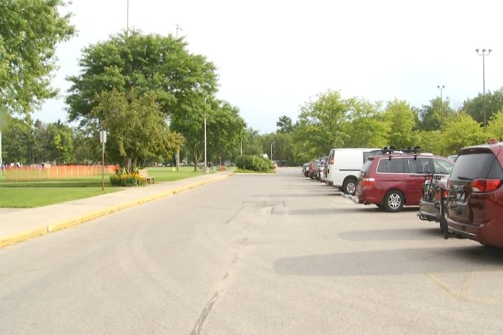 Traverse city hunting fishing expo needs new parking for Hunting and fishing expo