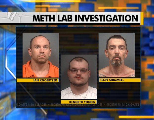 A Trespassing Tip In Clare County Lead To Multiple People Being Arrested On Meth Related Charges