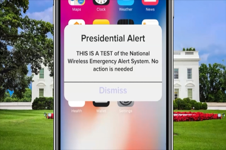 Test Scheduled for New National Presidential Alert System