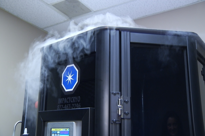 Trying Cryotherapy at Pine Grove Athletic Club in Cadillac