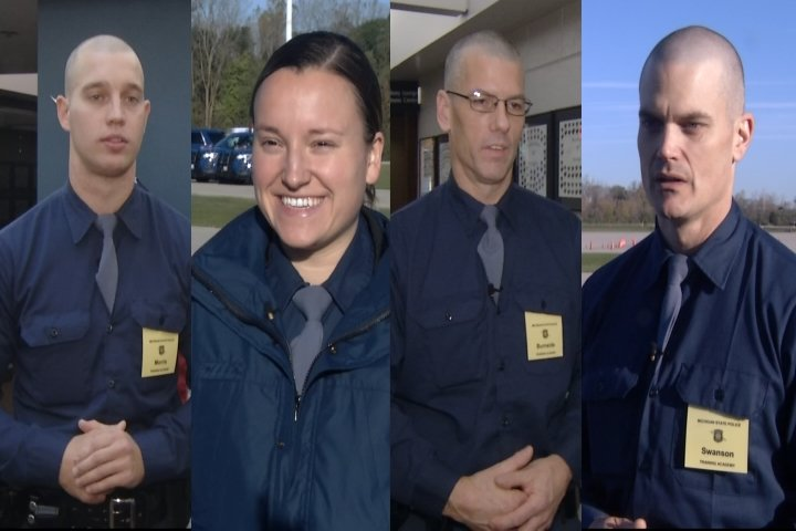 Train To Be A Trooper Part Two: Four Manton Recruits