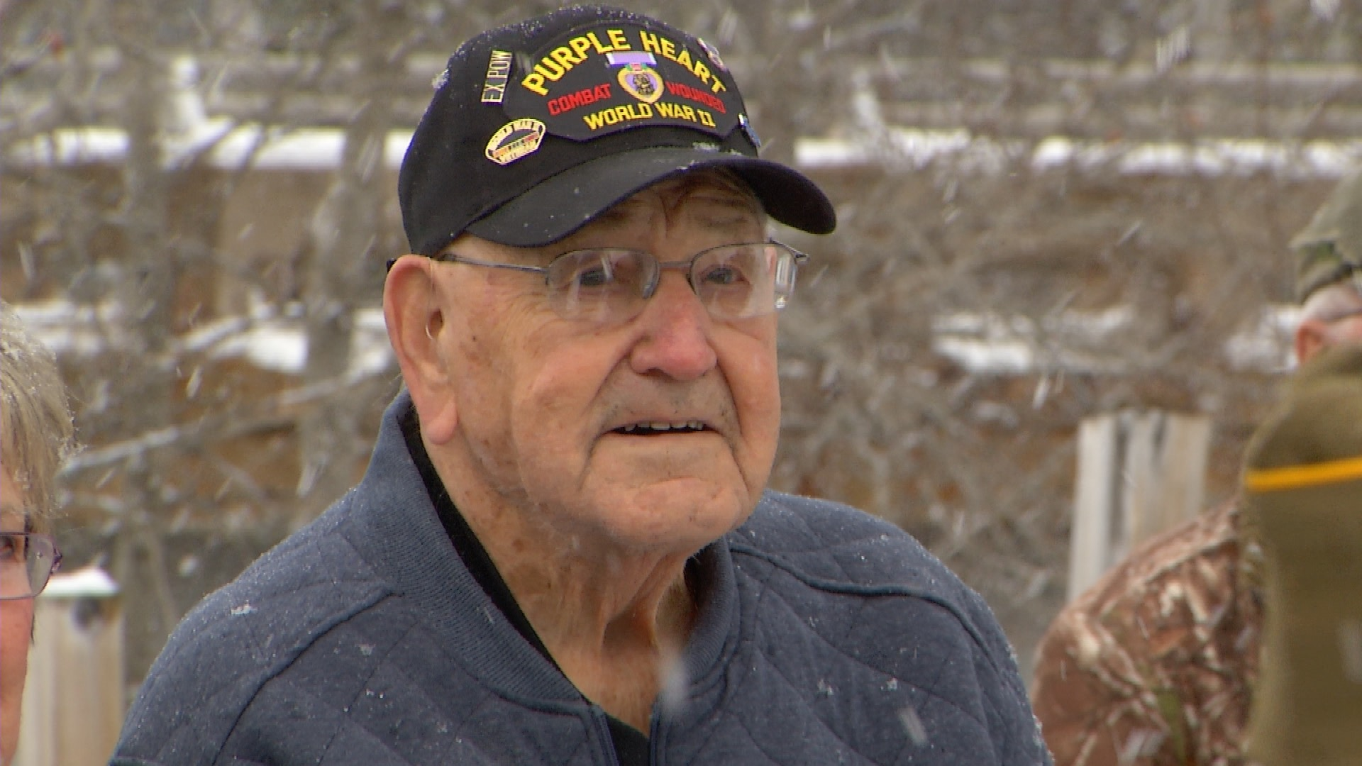 aa63ff584 Tags: brimley, chippewa county, russell hoornstra, superior township,  veteran, Veterans Day, World War II