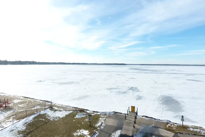 Northern Michigan from Above: Lake Mitchell in Cadillac - 9