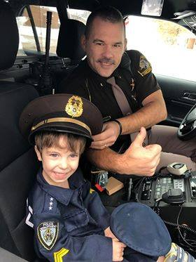 Sheriff Surprises 5-Year-Old Birthday Boy in Chippewa County
