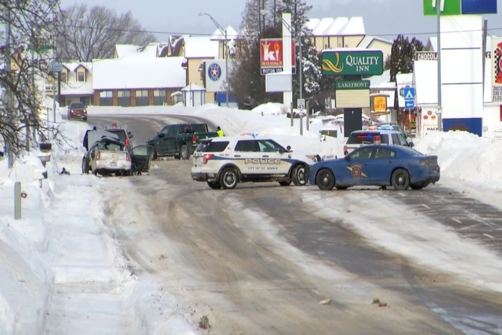 One Dead After Horrific St  Ignace Crash, Two Others