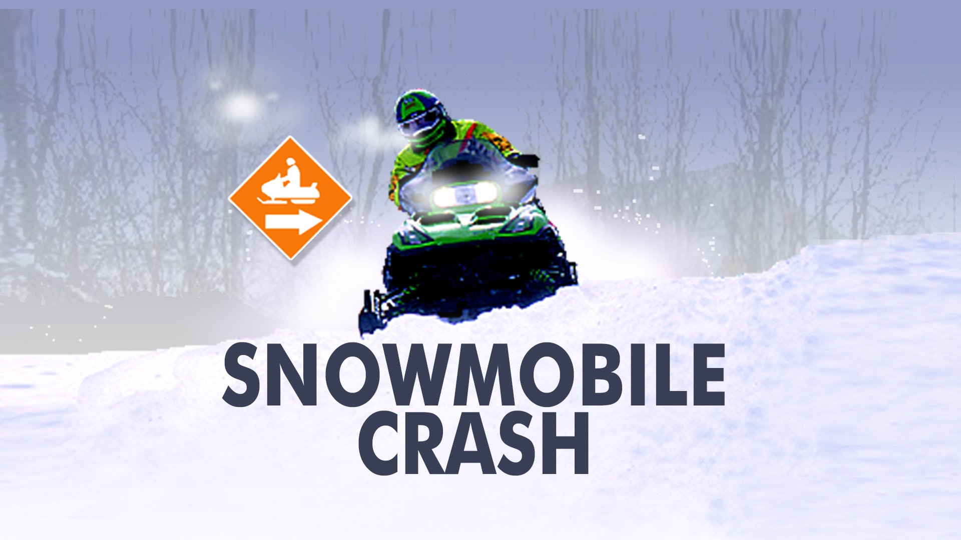 Man in Serious Condition After Snowmobile Crash in Chippewa