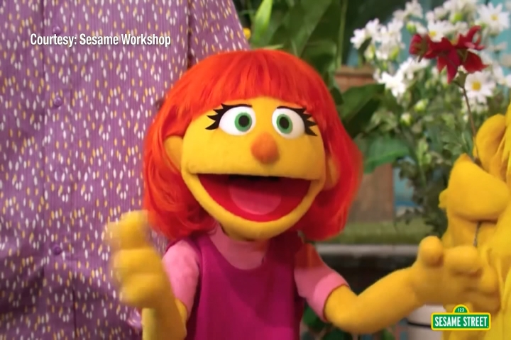 Positive Parenting: How 'Sesame Street's' Julia is Helping
