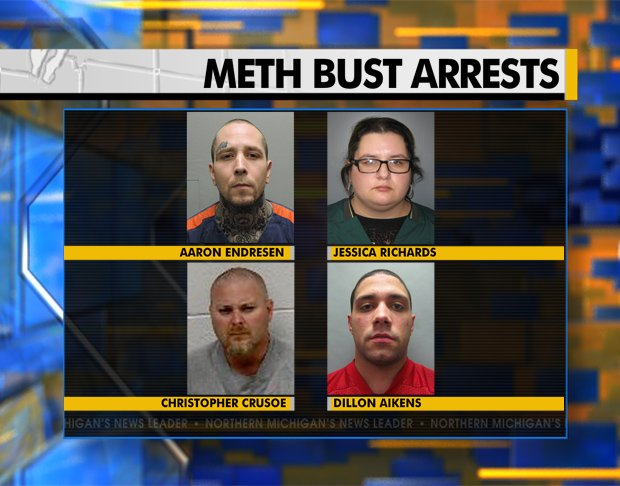 Sheriff: 16+ Meth Arrests All Linked to One