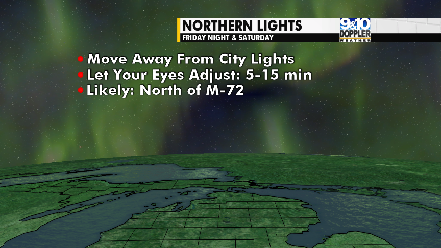 Northern Lights Potentially Visible This Weekend - 9 & 10 News