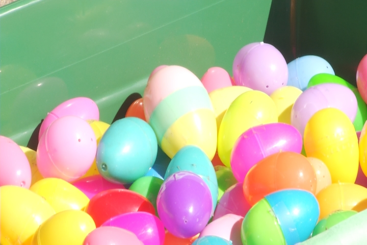 Families Celebrate The 10th Annual Clare Egg Drop