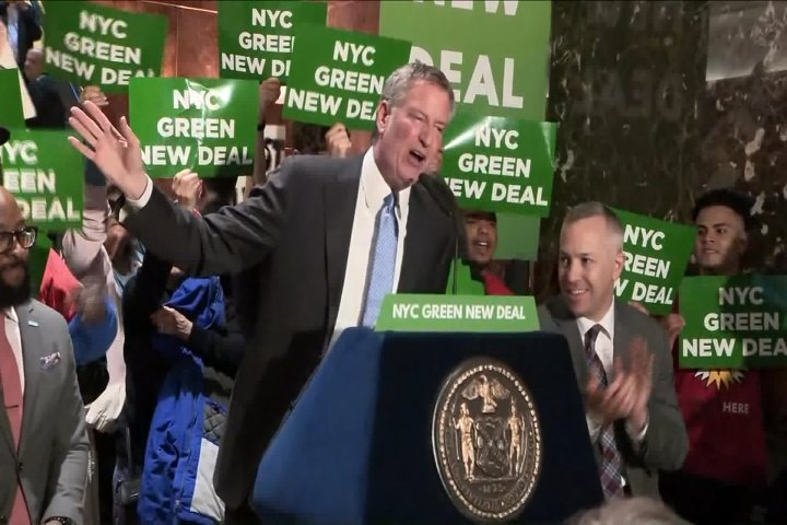 New York City Elections 2020 New York City Mayor Bill De Blasio Joins 2020 Presidential