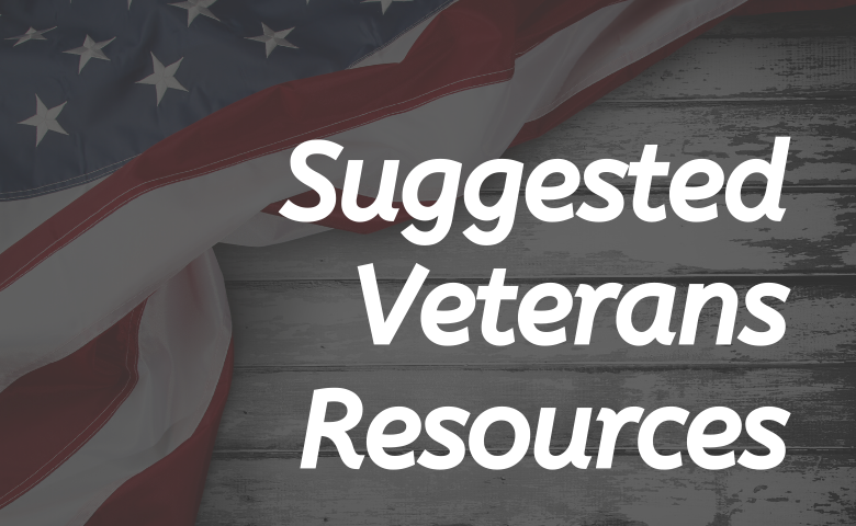 Suggested Veterans Resources