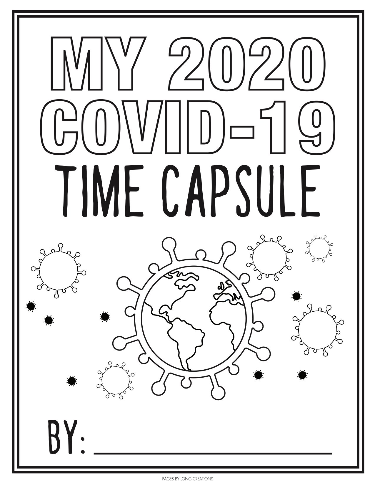 Children's Activity: COVID-19 Time Capsule - 9 & 10 News
