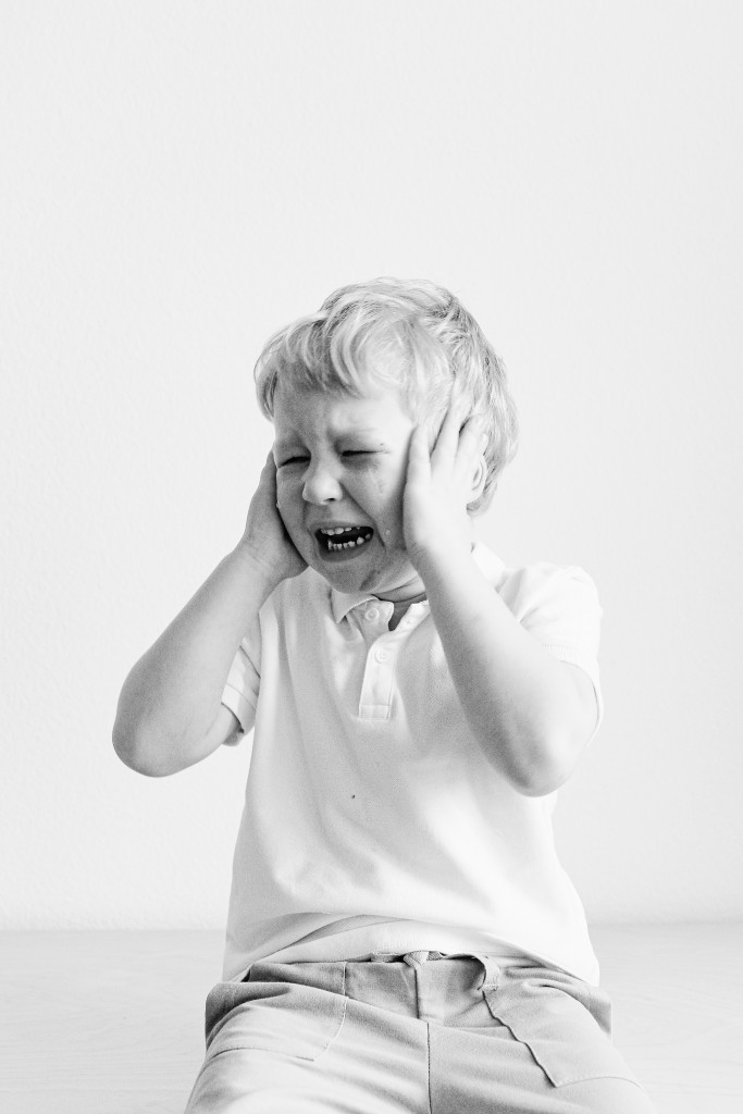 Grayscale Photo Of A Boy Crying 3905731