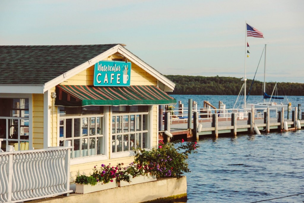 Mackinac Watercolor Cafe