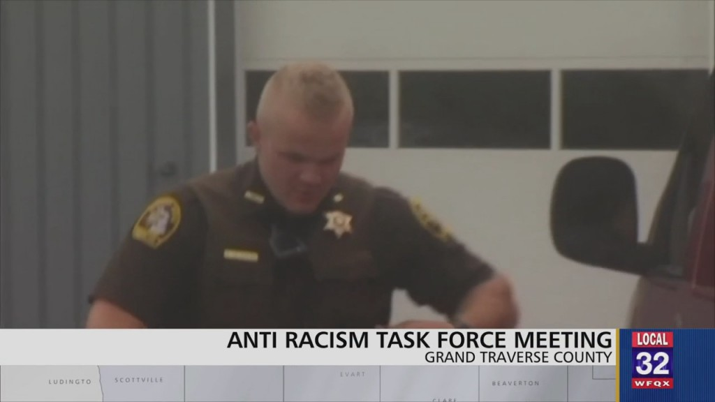 Grand Traverse Co. Sheriff Verbally Commits To Meeting Some Demands From Northern Michigan Anti Racism Task Force