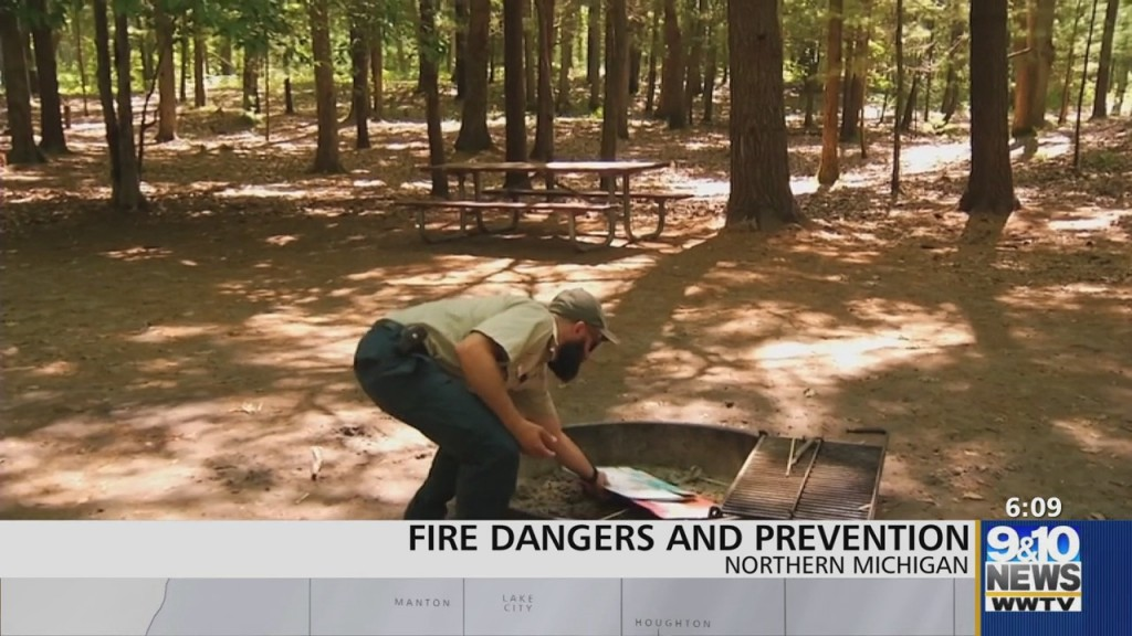 Huron Manistee National Forests Educate People On Preventing Wildfires
