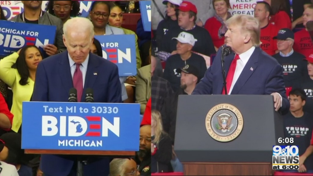 Biden, Trump Both Campaigning In Michigan This Week
