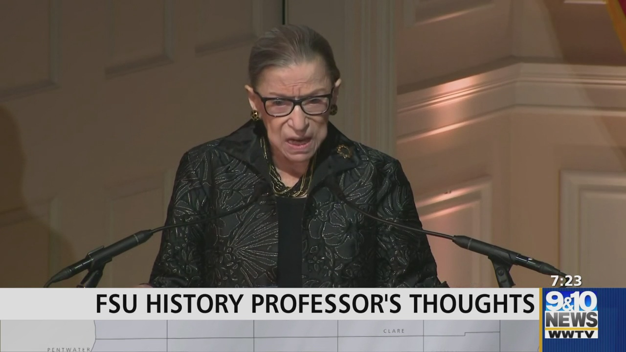 Ferris State University Professor Breaks Down Political Impact of Justice Ginsburg's Passing - 9 & 10 News
