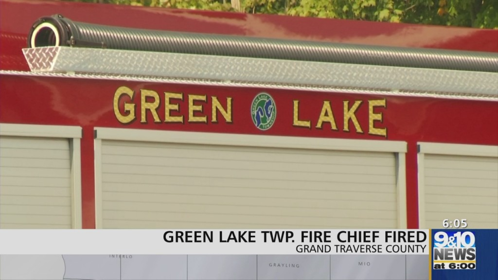 Green Lake Township Ends Employment With Fire Chief